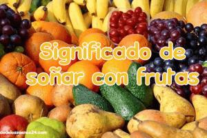 sonar con frutas