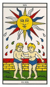 carta 19 tarot