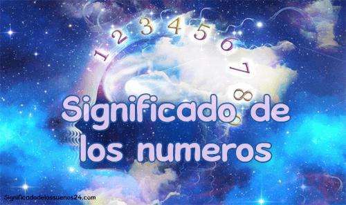 significado de los numeros
