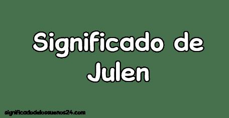 significado de julen