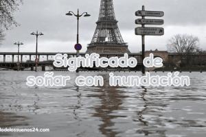sonar con inundación