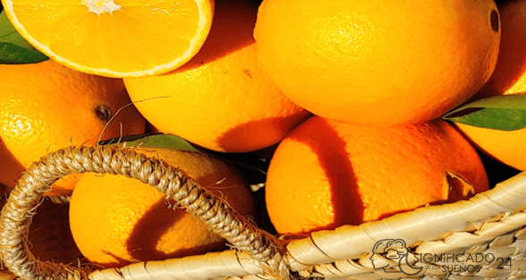 soñar con naranjas